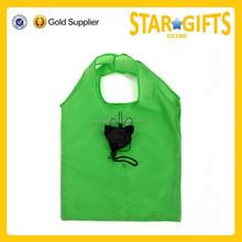 Wholesale Standard Size Reusable Folding Shopping Bag With Logo