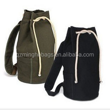 Round travel duffle bag canvas shoe bags