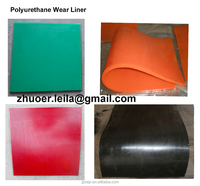 polyurethane sheet, urethane wear liner, anti wear and tear resistant rubber polyurethane plate