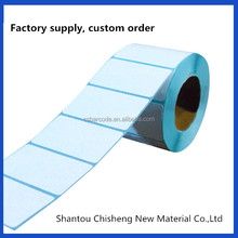 Custom size adhesive label printing sticker factory supply