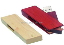 wooden box usb memory flash drivers 2.0/3.0