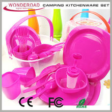 Hot Selling Plastic Kitchen ware products tableware camping kitchen box Kitchenware