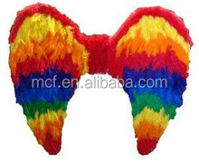 wholesale Party big rianbow gay large Feather angel wings FW-0031