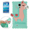 Best selling 3D God Beast pattern silicone case for Samsung Galaxy S4 case