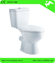 STOCK! sanitary ware toilet ceramic wc two piece toilet china supplier bathroom design