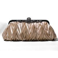 champagne evening bag clutch -7515