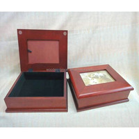 Beautiful jewelry box with velvet inside