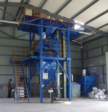 80t per day dry powder blending plant low cost less occupation area