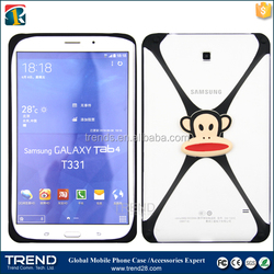christmas gift 3d cartoon universal silicon bumper case for tablet
