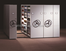 Compactor Cabinet Movable Storage Shelf Movable Rack Steel Compact Movable Shelving Mobile Compactus