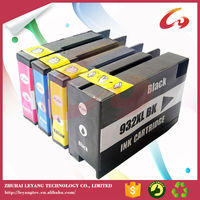Remanufactured & refillable ink cartridge for hp 932 933 with auto reset chips