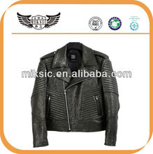 Stylish Price Superiority Winkle Man Sheep Motorcycle Leather Garment
