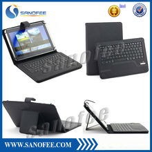 2014 Universal 8.9~10.1 Inch Tablet Portfolio Leather Case with keyboard