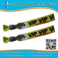 2013 TOP SALE new product ideas printed fabric bracelets woven wristbands for school events no min order