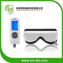 2014 caliente de la venta de música eléctrica del punto de acupuntura de presión de aire de masaje de amasamiento eyepatch