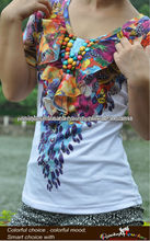 impressão em 3d meninas moda básica manga curta camiseta