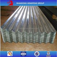 Zinc Gi Galvanized Steel Roofing Sheet Sizes