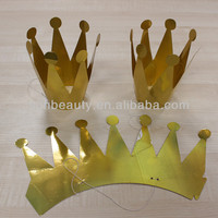 Wholesales 2015 paper boys crowns for pagean