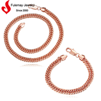 Latest fashion artificial Myanmar jewellery chain for sale
