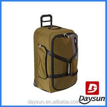 Large storage international traveller world trolley bags for men