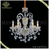 2015 trade assurance suppliers hot sale modern style glass chandelier light crystal candle chandelier