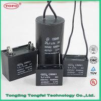 best price 6uF 8uF 10uF fan start capacitors CBB61