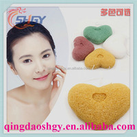 Many Colors And Shapes Natural Soft Jelly Facial Cleansing Konjac Sponge