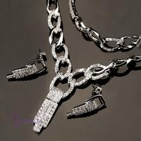 turkish superstar accessories jewelry rhinestone crystal avenue jewellery set
