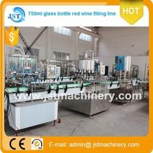 Migliore opzione 2000 BPH auto tipo lineare brandy/rum/gin riempimento impianto in jiangsu