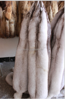High fashion Real White Fox Fur Wholepieces Skin and Fur