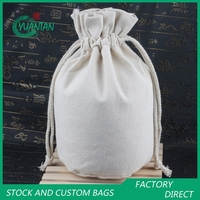 Canvas Round Travel Cosmetic Bags/Pouches 13*25cm