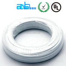 High Temperature Wire FEP Insulation White PVC Jacket Tinned Copper Wire