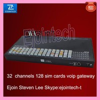 high performance 32 port 128 sim cards gsm gateway, mobile route