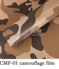 Hot supply intimate space black camouflage car vinyl film