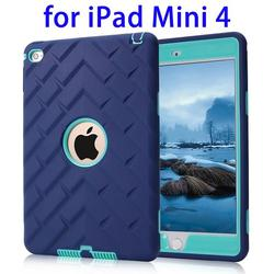 Factory Price 3 in 1 Impact Hybrid Case for iPad Mini 4 cover