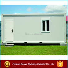 comfortable and essy installation steel frame projects of houses of sea container