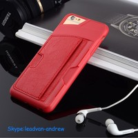 For Iphone 6 Plus Wallet Case, Top Quality Leather Wallet Case For Iphone 6 Plus