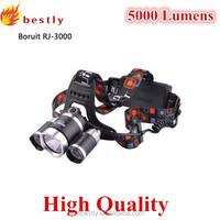 Led flashlight head lamp with 4 models xml xm-l 3t6 led bike headlamp 5000lumens high power headlamp