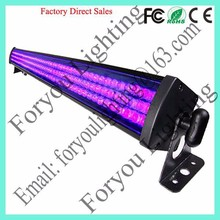 3-Year Warranty Pro Stage 252*f10mm UV Black DMX LED Wall Washer Disco Light