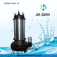 3 Phase Non Clogging submersible sewage Water Heat Pump