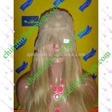 fashion popular #18 highlight #22 brazilian human hair full lace wig with wholesale