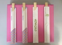 Most popular bamboo chopsticks set half paper packing
