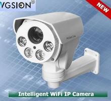 PTZ 1.3Mega Pixels 720P, Onvif , outdoor waterproof 10x, Intergrate High Speed bullet PTZ IP Camera