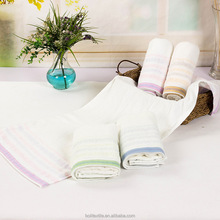 yarn dyed 100% cotton hand towel wholesale