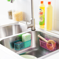 Multipurpose Clear Plastic AS Mini Kitchen and Bathroom Storage Box