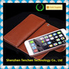 with card slots magnet leather flip case for iphone wholesale