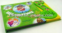 childrens music button book kids english speaking book