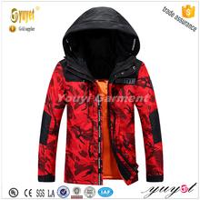 mens casual fatigues down jacket