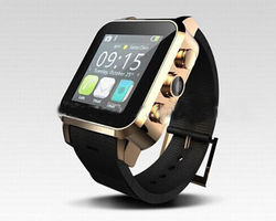 bar design <3mp camera android smart watch support heart monitor/pedometer/sport configuration