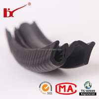 TS16949 certification factory produce various rubber auto window weather strip